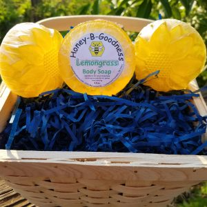 Lemongrass Body Soap | Honey-B-Goodness | Handcrafted salves, soaps, skin care