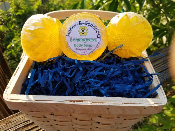 Lemongrass Body Soap | Honey-B-Goodness | Handcrafted salves, soaps, skin care