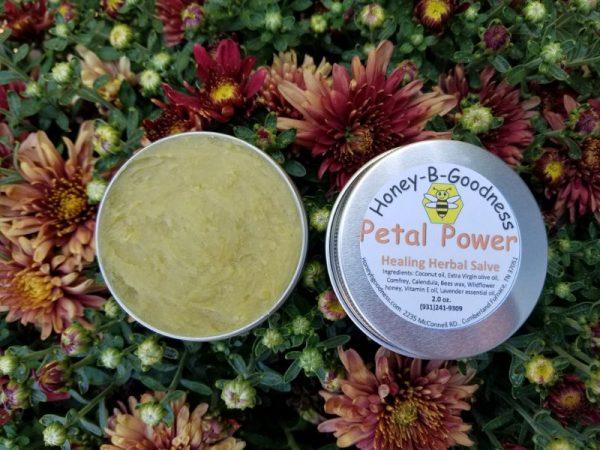 Petal Power Salve | Honey-B-Goodness | Handcrafted salves, soaps, skin care