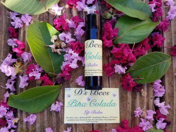 Pina Colada Lip Balm | Honey-B-Goodness | Handcrafted salves, soaps, skin care
