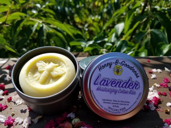 Lavender Moisturizing Lotion Bar | Honey-B-Goodness | Handcrafted salves, soaps, skin care