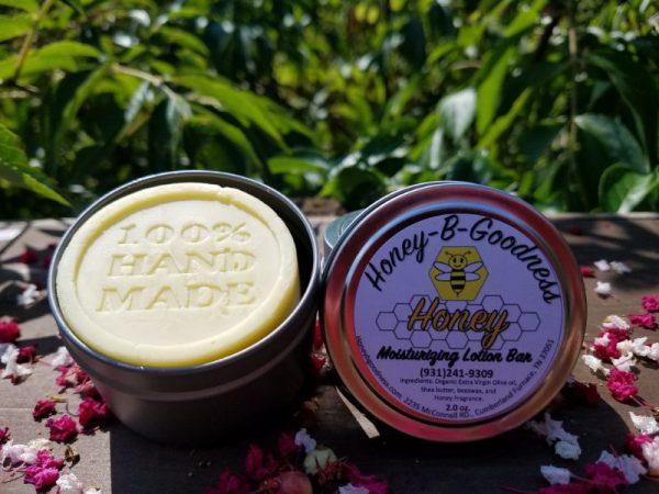 Honey Moisturizing Lotion Bar | Honey-B-Goodness | Handcrafted salves, soaps, skin care