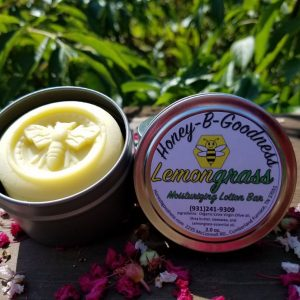 Lemongrass Moisturizing Lotion Bar | Honey-B-Goodness | Handcrafted salves, soaps, skin care