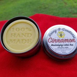 Cinnamon Lotion Bar | Honey-B-Goodness | Handcrafted salves, soaps, skin care