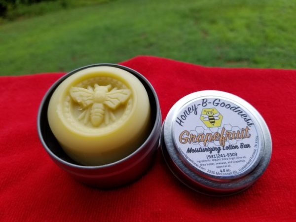 Grapefruit Lotion Bar | Honey-B-Goodness | Handcrafted salves, soaps, skin care