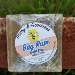 Bay Rum Bath Soap | Honey-B-Goodness | Handcrafted salves, soaps, skin care