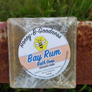 Bay Rum Bath Soap | Honey-B-Goodness | Handcrafted salves, soaps, skin care