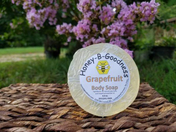 Grapefruit Body Soap | Honey-B-Goodness | Handcrafted salves, soaps, skin care