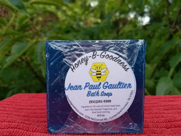 Jean Paul Gaultier Bath Soap | Honey-B-Goodness | Handcrafted salves, soaps, skin care