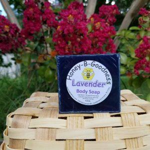 Lavender Body Soap | Honey-B-Goodness | Handcrafted salves, soaps, skin care