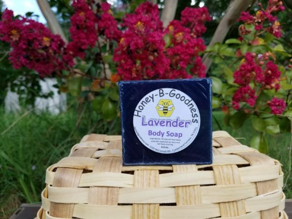 Lavender Body Soap | Honey-B-Goodness | Handcrafted salves, soaps, skin care