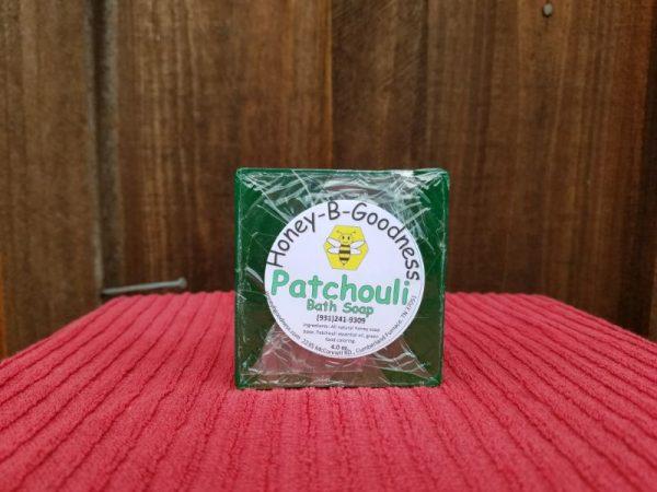 Patchouli Bath Soap | Honey-B-Goodness | Handcrafted salves, soaps, skin care