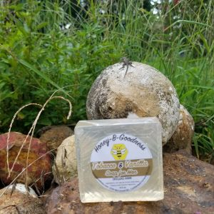 Tobacco and Vanilla Soap for Men | Honey-B-Goodness | Handcrafted salves, soaps, skin care