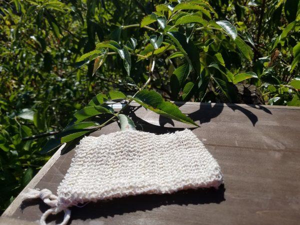 Ramie Soap Bag | Honey-B-Goodness | Handcrafted salves, soaps, skin care