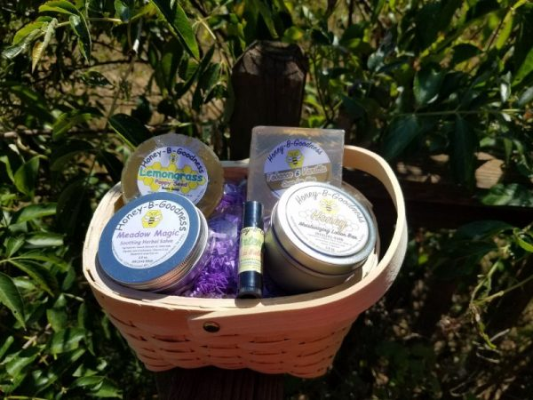 Small Custom Basket | Honey-B-Goodness | Handcrafted salves, soaps, skin care