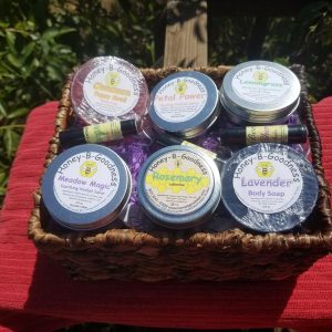 Large Custom Basket | Honey-B-Goodness | Handcrafted salves, soaps, skin care